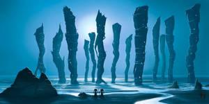 Platripod City by Corwin-Cross
