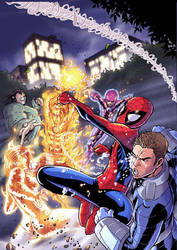 SPEC SPIDEY UK 187 COVER by deemonproductions