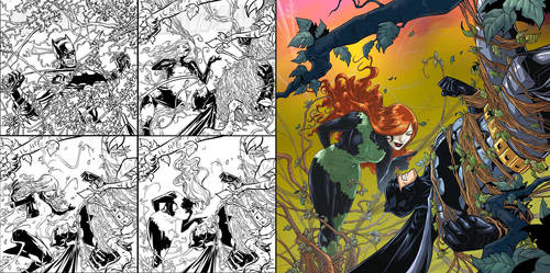 BATMAN V POISON IVY by deemonproductions