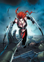bloodrayne by deemonproductions