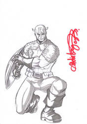 captain america sketch by deemonproductions