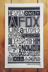 THE FOX I by KADZN