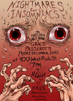 Nightmares for Insomniacs Showposter by quietsecrets