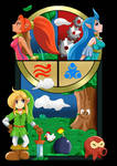 Zelda Oracle of Ages/Seasons Super Fan Art Complet by ArcticFox-223