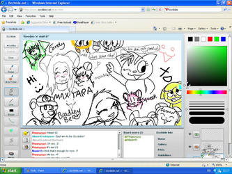 .:iScribble With Maxie :3:. by Floppy-Doggie