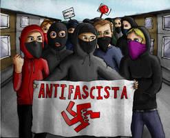Antifa by urs-obnoxious
