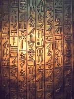 Ancient Hieroglyphs by IreneMarleenAyuma