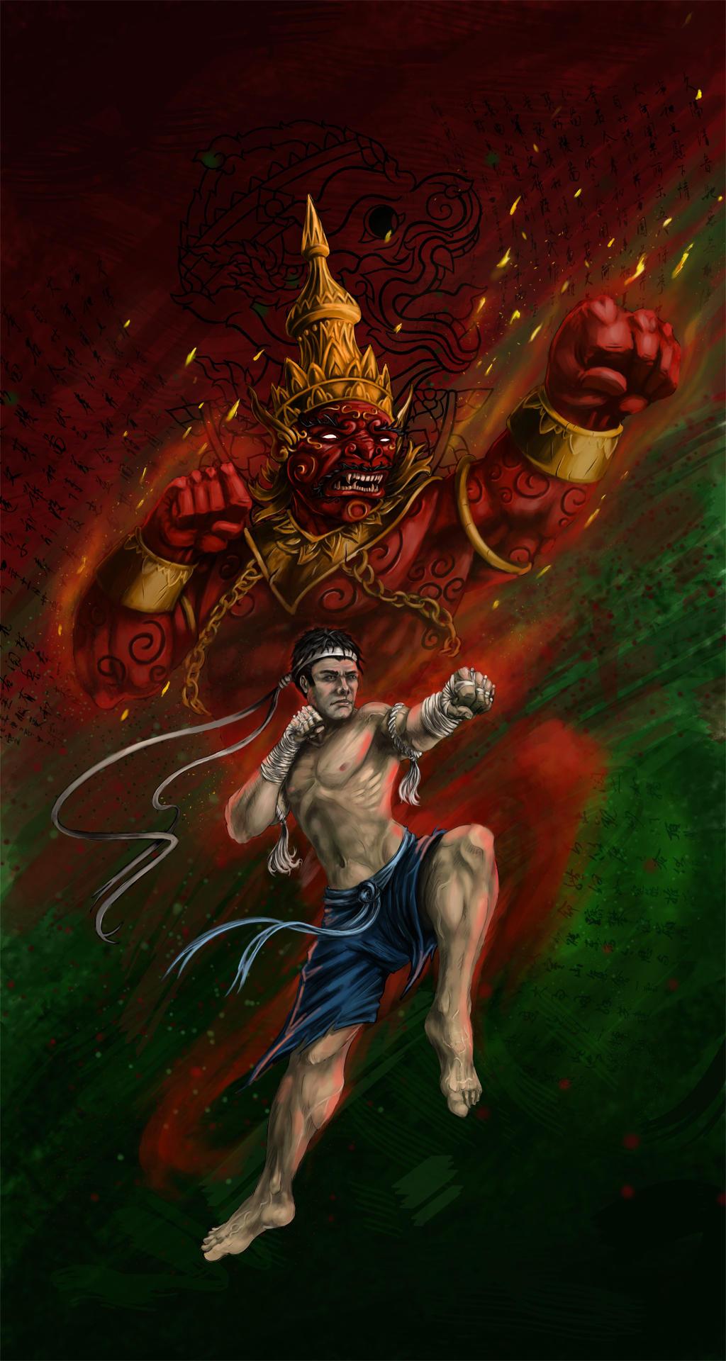 Muay-thai by InsaneInfernO