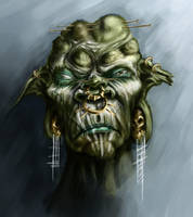 shujaa shaman by InsaneInfernO
