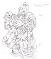 mountin dwarf by InsaneInfernO