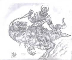 teoran rider by InsaneInfernO