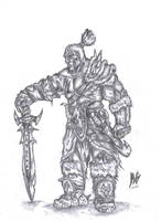 gargonian barbarian by InsaneInfernO