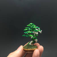 Literati wire bonsai tree by Ken To by KenToArt