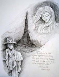 Roland and Susan Dark tower by Tdvtitan