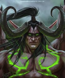Illidan Stormrage The Betrayer by TheBetrayer666