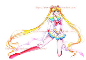 Super Sailor Moon by Alex-Asakura