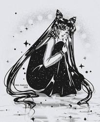 Black Lady by Alex-Asakura