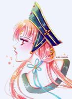 Princess Kakyuu by Alex-Asakura