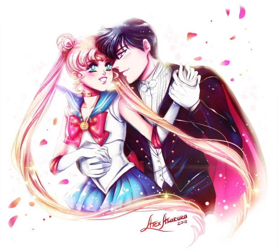 Sailor Moon X Tuxedo Mask: Sailor Moon And Tuxedo Mask By Alex-Asakura On DeviantArt