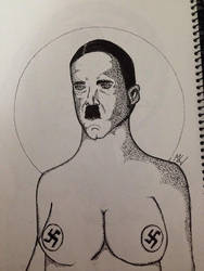 Hitler by BDmaya