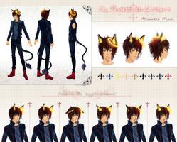 CM: Alexander Reference Sheet by sakonma