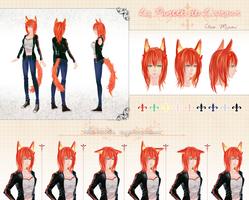 CM: Cleo Reference Sheet by sakonma
