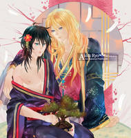 Aki and Ryo dA by sakonma
