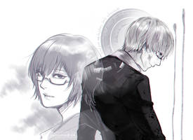 Tokyo Ghoul: K(ishou) by sakonma
