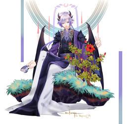 First bloom by sakonma