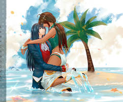 Summer's embrace by sakonma