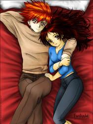 Edward x Bella - Hug by Robbuz
