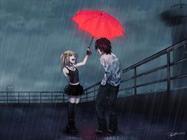Commission - Umbrella by Robbuz