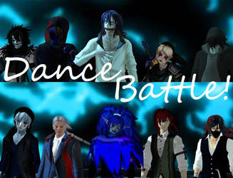 MMD Creepypasta Dance Battle (VIDEO LINK IN DESC) by AmieCris