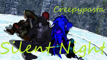 MMD Creepypasta Silent Night (VIDEO LINK IN DESC) by AmieCris
