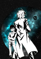 Evil Rick and Morty - digital by Yussik-yuu