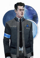 Connor - sketch1 by Yussik-yuu