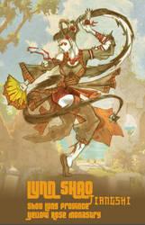 Shaolin Dead Girl A.K.A. Lynn Shao by abraibarnabas
