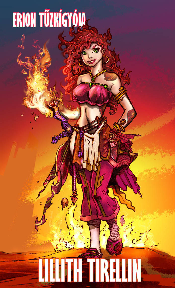 Lilith MAGUS character by abraibarnabas