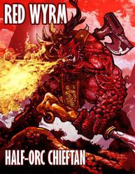 Red Wyrm by abraibarnabas