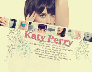Katy Perry Wallpaper by NoodleThug