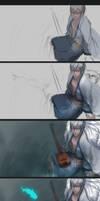Tamotsu Progress Shots by ae-rie