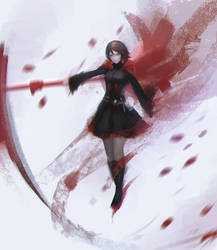 RWBY: Red Like Roses by ae-rie