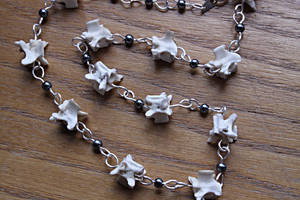 Snake Vertebrae Necklace by Hands-and-Teeth