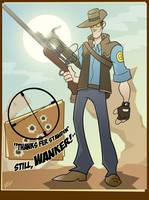 The Sniper by RevDenton