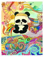 Panda Power by homigl14