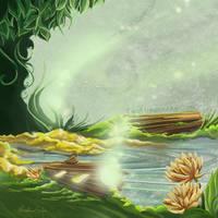 Fairy Lights (again) by TwoHorizonsArt