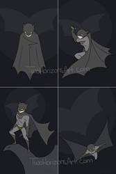 Batman by TwoHorizonsArt