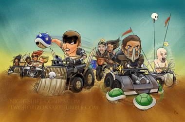 Mad Maxio Kart by TwoHorizonsArt
