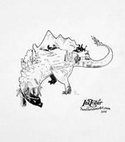 Dinosaurs by TwoHorizonsArt