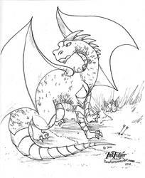 Dragon by TwoHorizonsArt